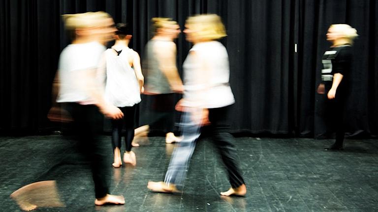 Lektion på Teaterhögskolan i Malmö.