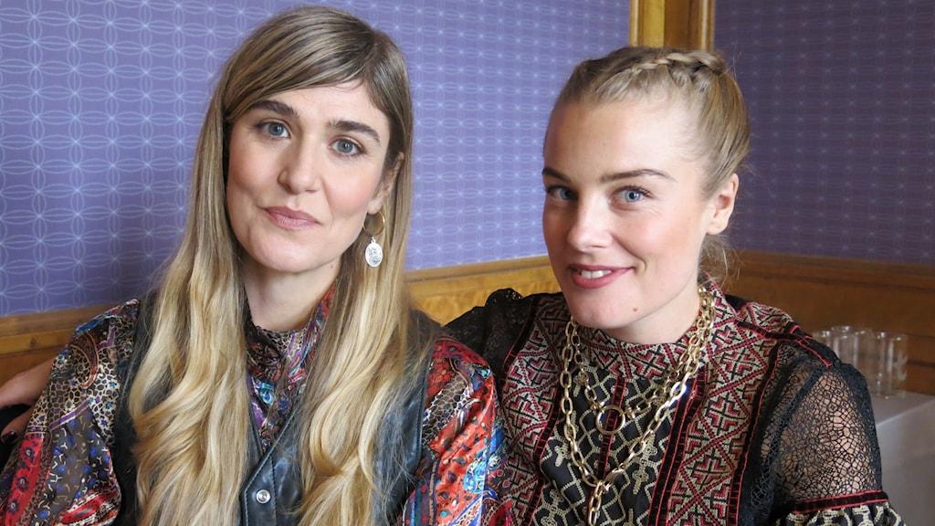 Lisa Langseth och Ida Engvoll.
