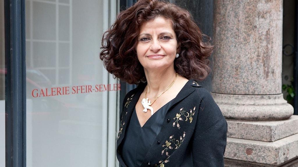 Konsthistorikern och galleristen Andrée Sfeir-Semler