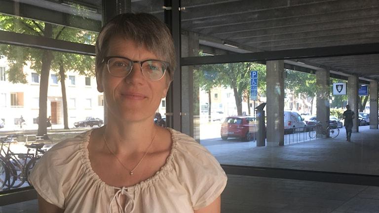 Lotta Biörnstad, enhetschef statens kulturråd