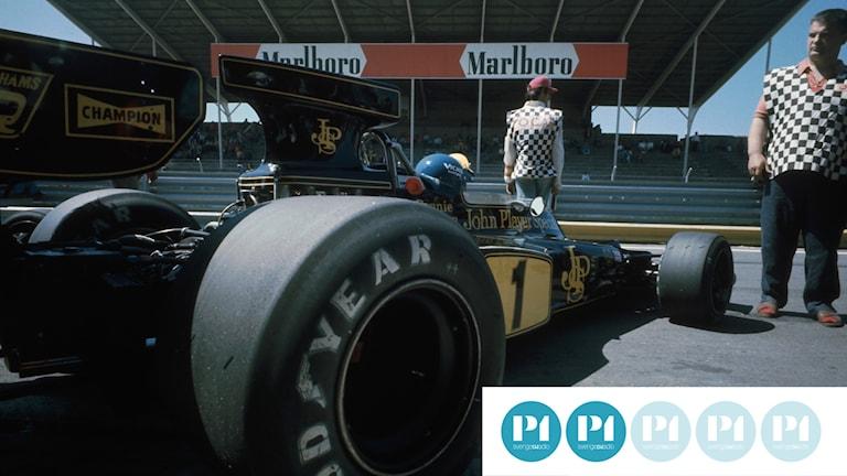 Dokumentären om Ronnie Peterson lämnar aldrig Formel 1-cirkusen.