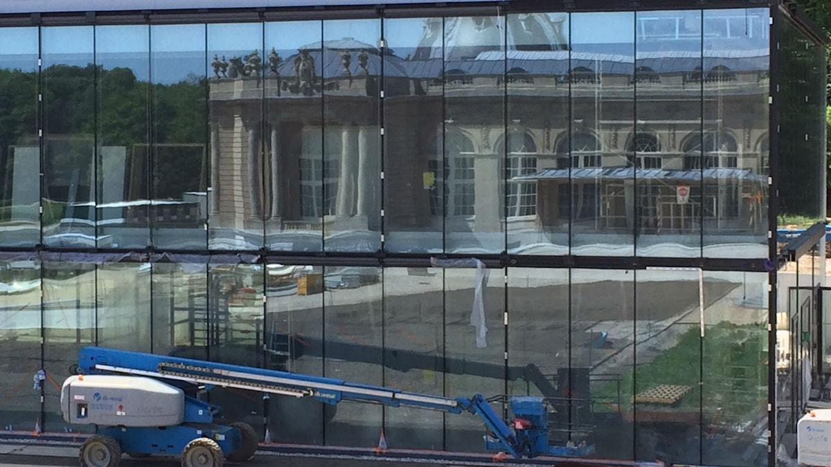 Centralafrikanska museet i Bryssel vars renovering ska stå färdig den 1 juni 2018.