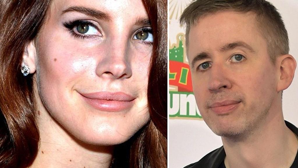 Lana Del Rey och Fredrik Strage
