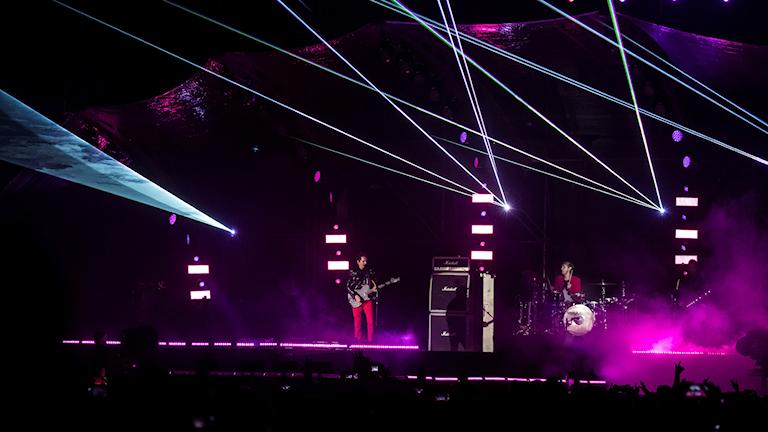 Arenarockbandet Muse