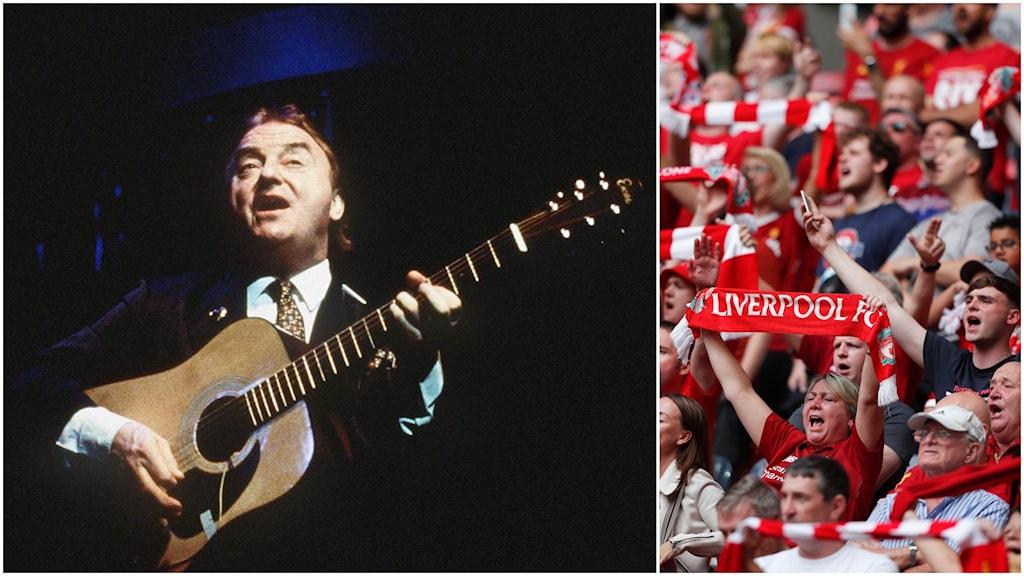 Gerry Marsden och Liverpool-fans