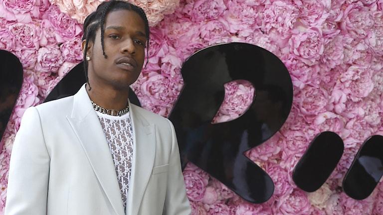 Den amerikanske rapparen Asap Rocky.