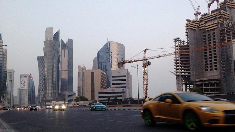 Qatars huvudstad Doha. Foto: Maggie Hyde/AP/TT