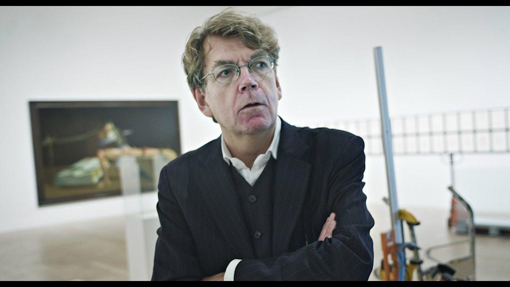 John Peter Nilsson, chef för Moderna Museet i Malmö.