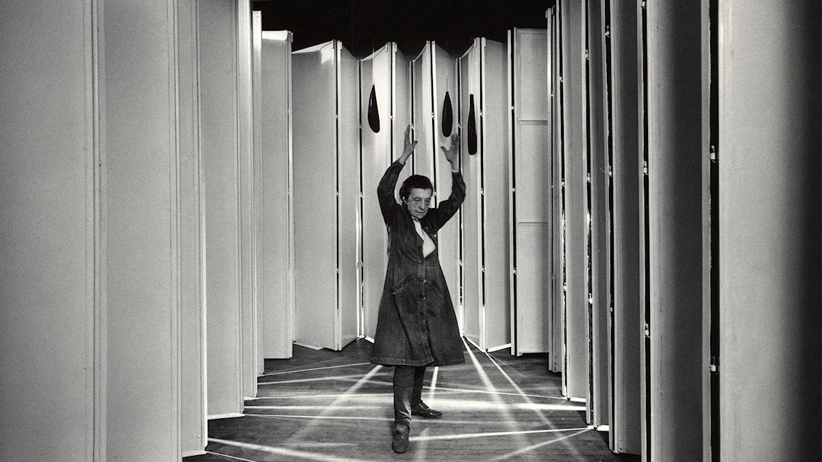 Louise Bourgeois inne i Articulatded Lair