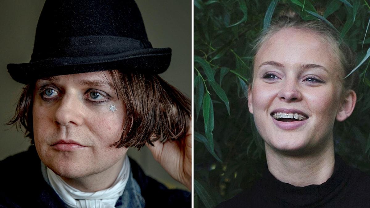 Henrik Berggren och Zara Larsson.