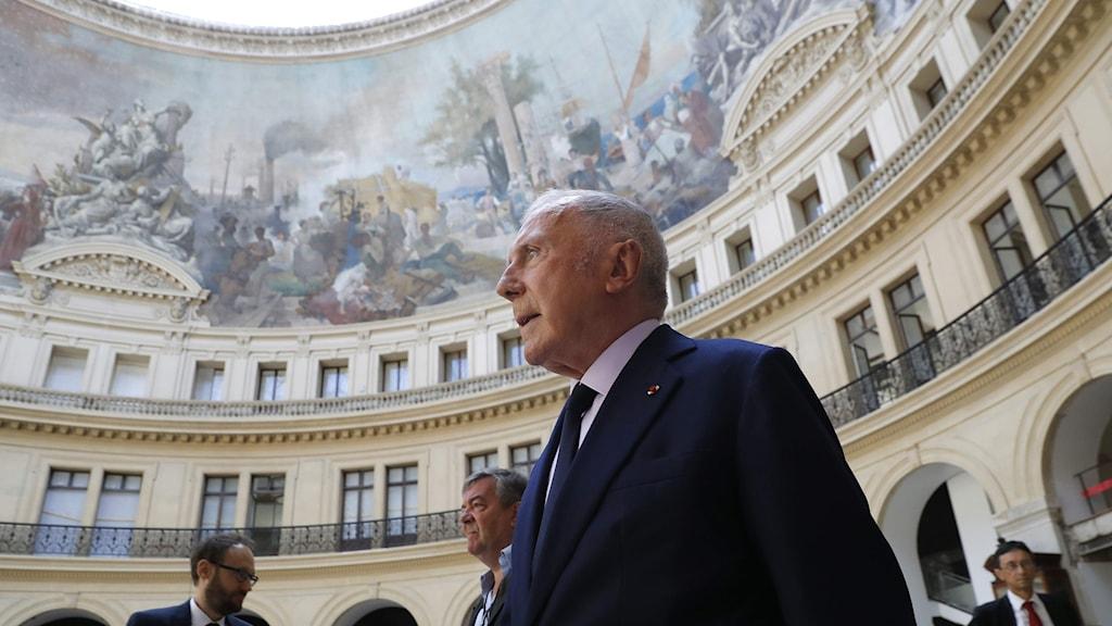 Francois Pinault ska förvandla Paris börshus till ett konstmuseum.