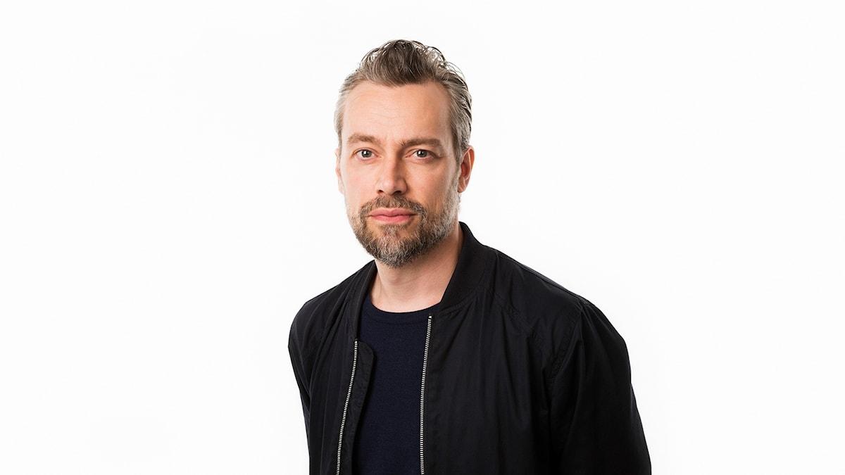 Mattias Hermansson, chef för Sveriges Radios kulturredaktion. Foto Mattias Ahlm/Sveriges Radio