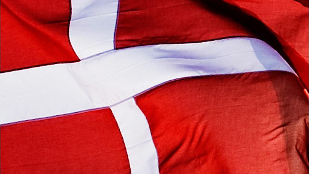 Danmarks flagga. Foto: Henrik Montgomery/Scanpix.