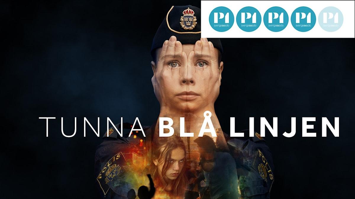 SVT:s nya tv-serie Tunna blå linjen
