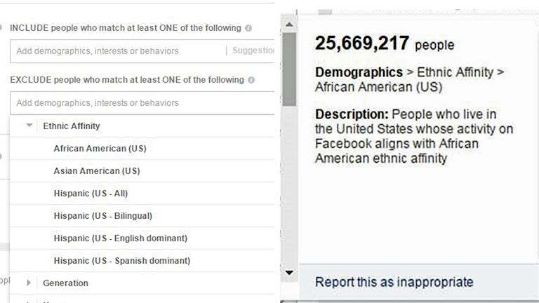 Facebooks verktyg för annonsörerna.