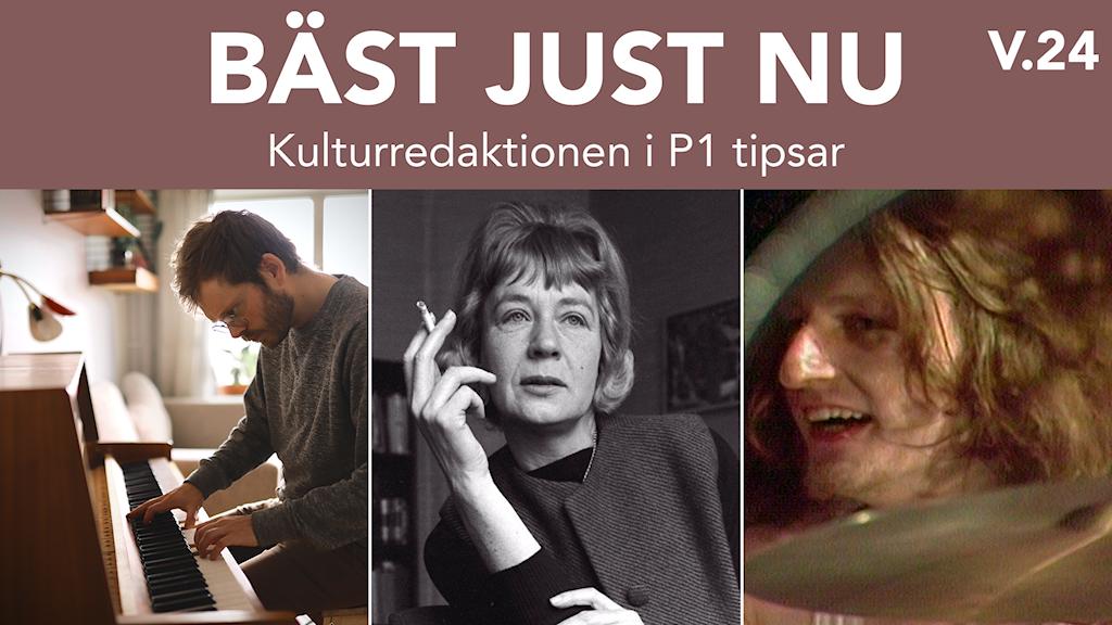 Anders Teglund, Tove Ditlevsen och Klaus Dinger.