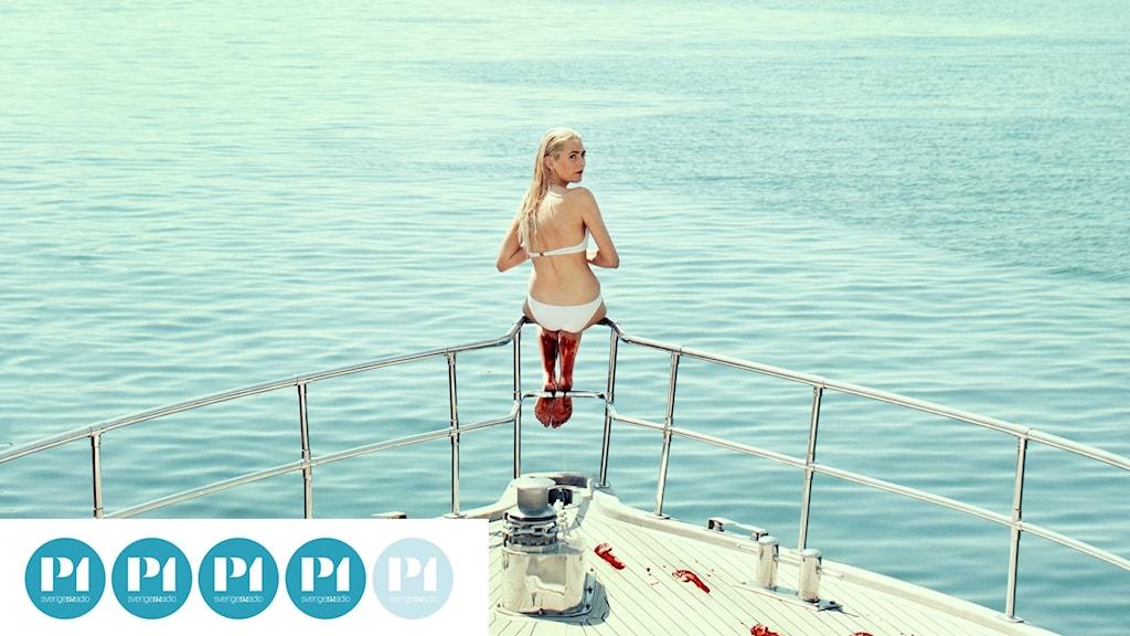 "Victoria Carmen Sonne i filmen ""Holiday""."