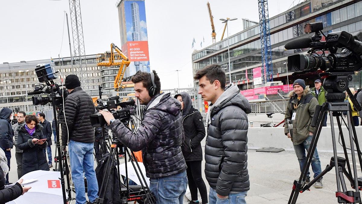 Medias rapportering