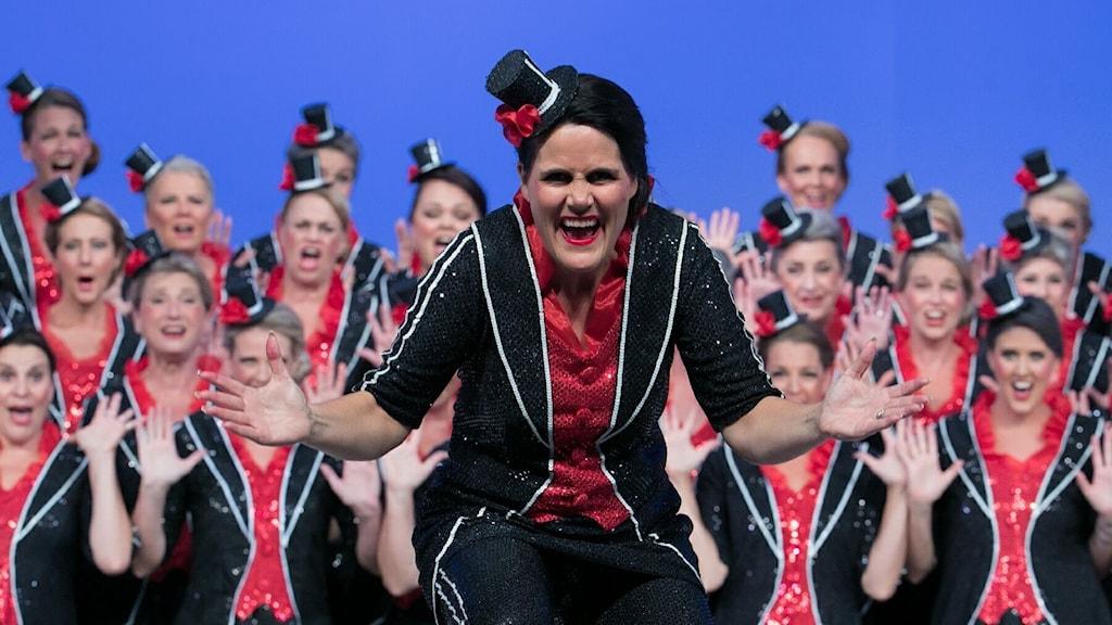 Anna Alvring, Rönninge Show Chorus.