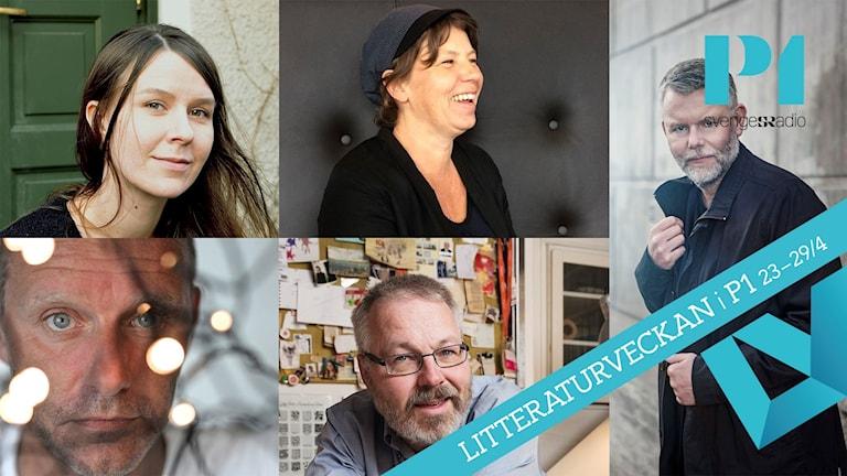 Elin Ruuth, Lina Ekdahl, Arne Dahl, John Ajvide Lindqvist och Joakim Pirinen är nominerade till Sveriges Radios Novellpris 2017.