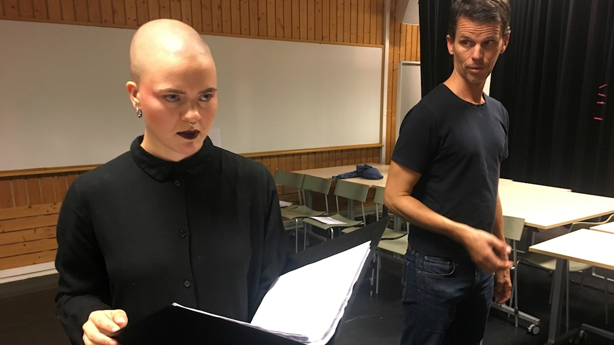 Sigrid Algesten och Matts Johansson från Vokalkvartetten Vox. Foto: Mina Benaissa