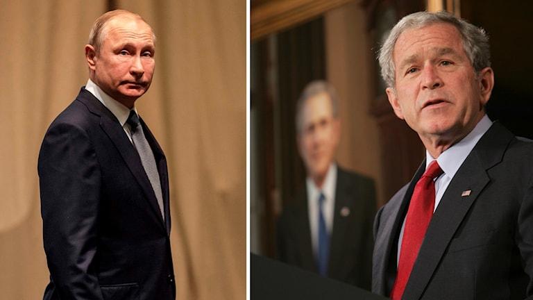 Putin och Bush