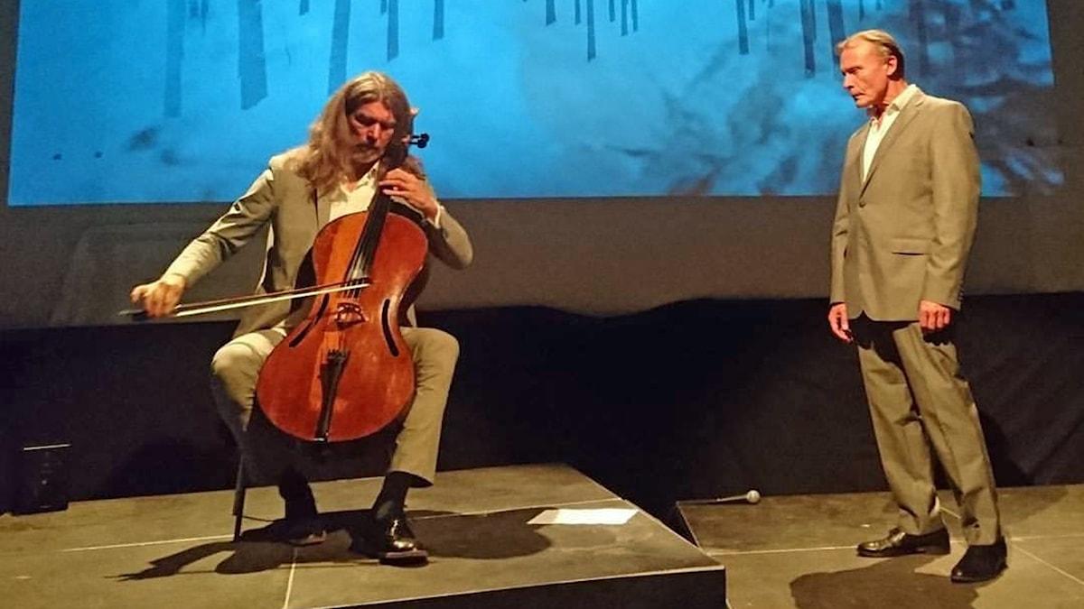 Svante Henryson och Hans-Ola Stenlund. Foto: Anna Eliasson.