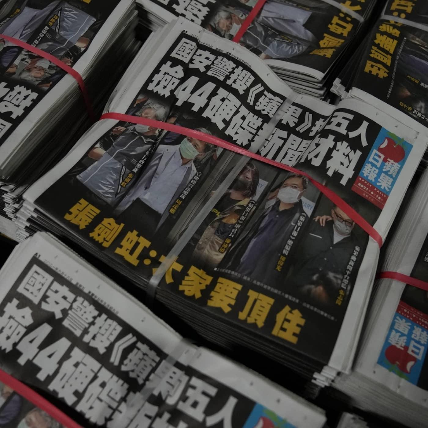 Nyhetssajt först att flytta från Hongkong