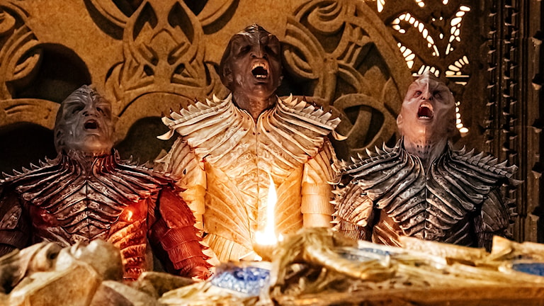 Klingonerna är tillbaka i nya Star Trek-serien Discovery, men med nytt utseende.