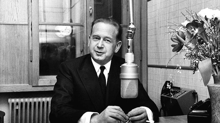 Dag Hammarskjöld 1958