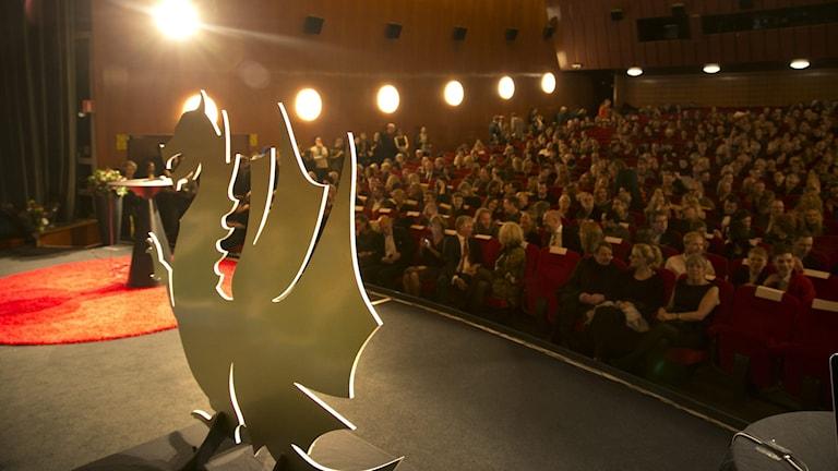 Göteborgs filmfestival har en drake som symbol.