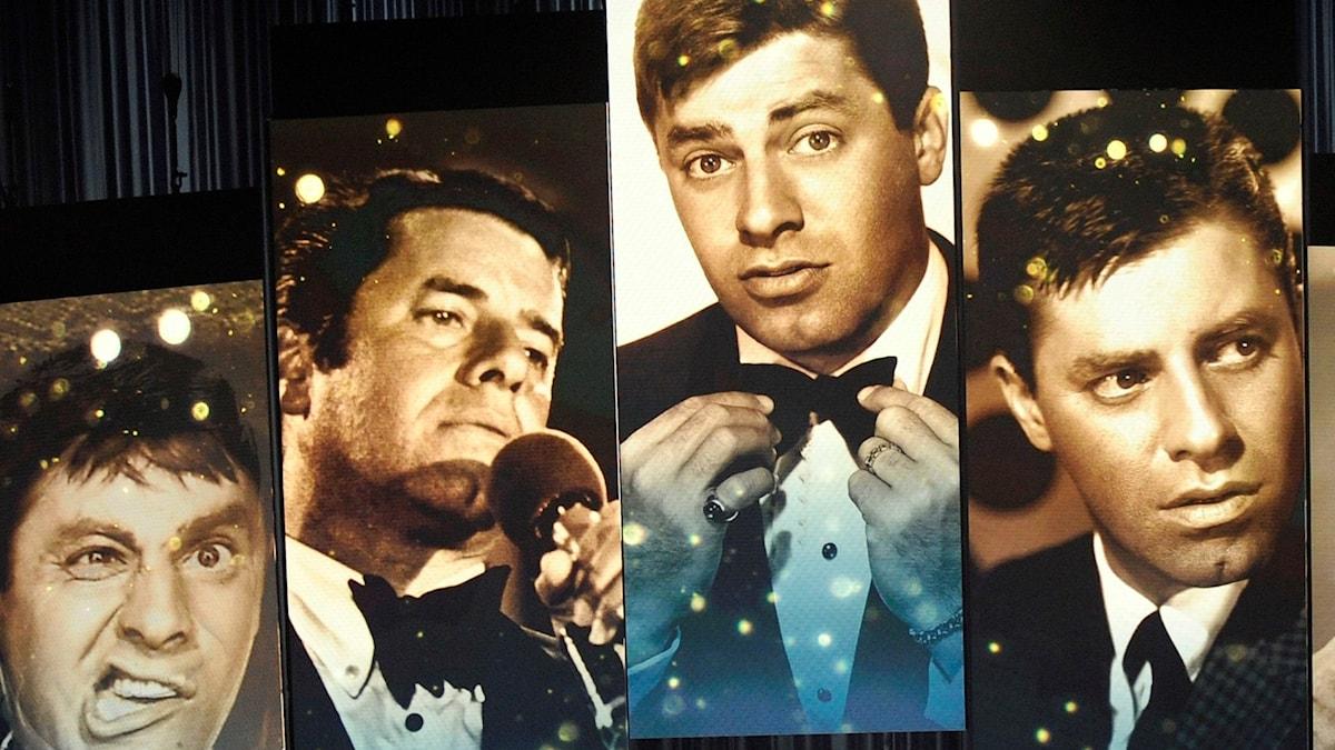 Jerry Lewis hyllades på Oscarsgalan 2009.