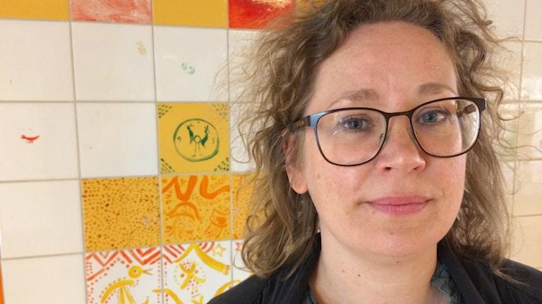 Jenny Bergenmar är ansvarig för programmet digital humaniora på Göteborgs Universitet. Foto: Mina Benaissa
