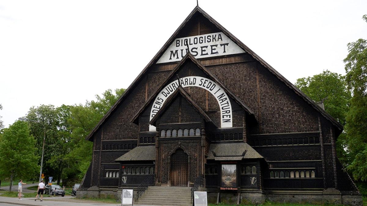 Biologiska museet ligger på Djurgården i Stockholm och blir nu byggnadsminne.