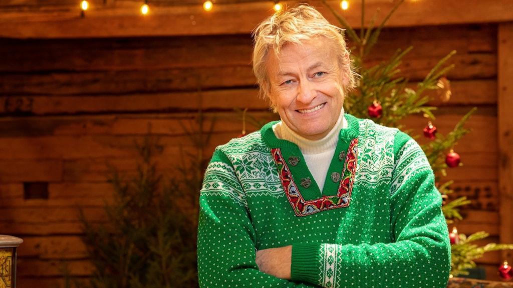 Lars Lerin årets julvärd i SVT.