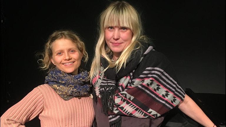 Ida&Louise några av musikerna som medverkar på festivalen