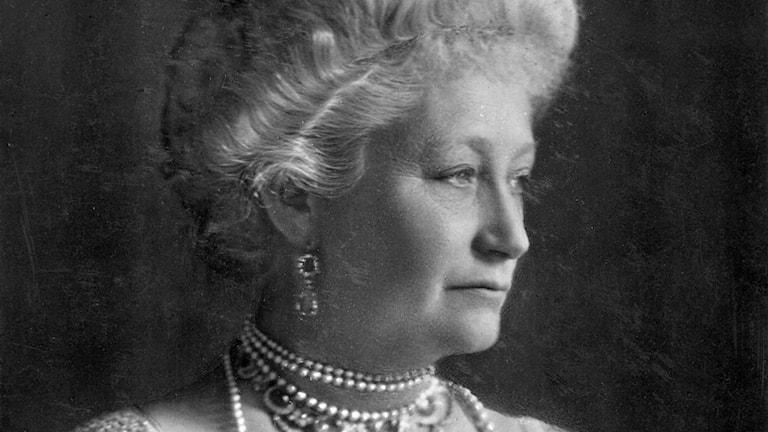 Kejsarinnan och drottningen av Preussen Auguste Viktoria.