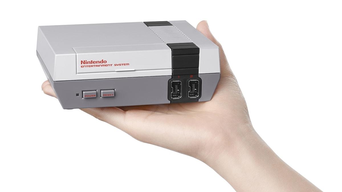 Nintendo klassiska 8-bitskonsol som släppts i en minivariant.