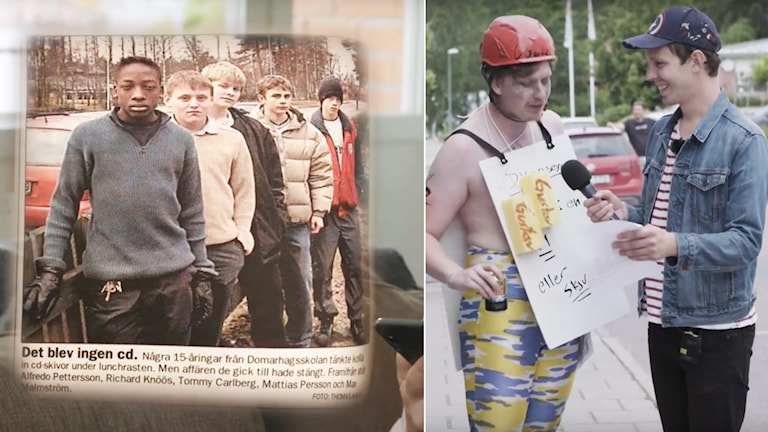 Komikern Jonas Strandberg har djupdykt i en lokalnotis och sammanställt en 54 minuter lång dokumentär.