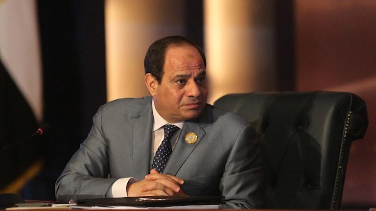 Egyptens president Abdel Fattah al-Sisi