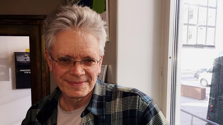 Kronoskvartettens grundare, violinisten David Harrington.
