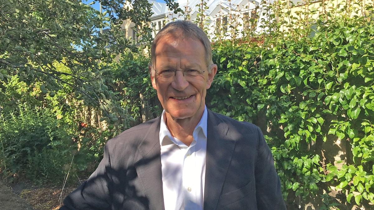 Nicolas Serota är chef för Arts Council England.