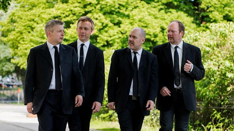 Stenhammarkvartetten. Foto: Bo Söderström.