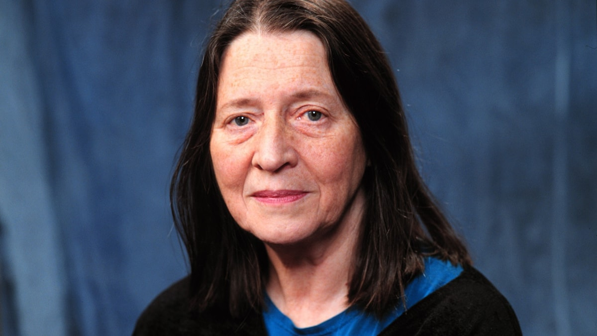 foto av akademiledamoten Birgitta Trotzig