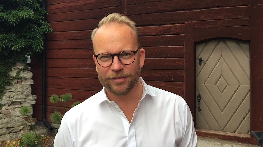 Olof Lavesson är Moderaternas kulturtalesperson.