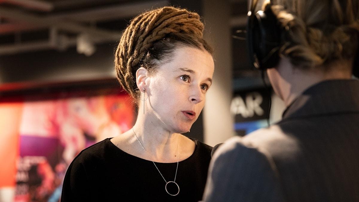 Amanda Lind på Riksting för Västerländsk konstmusik