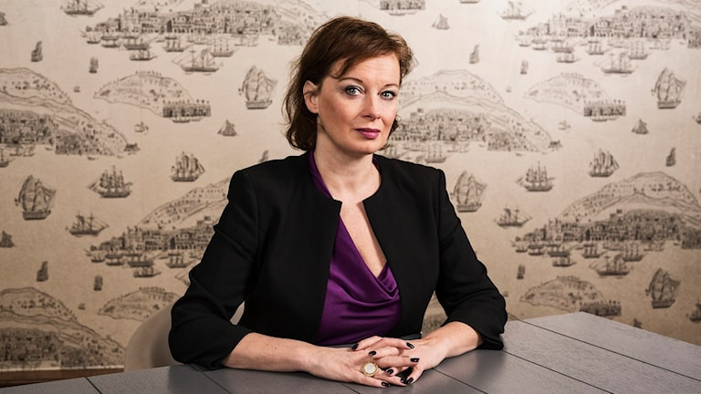 Camilla Wagner. Foto: Mattias Ahlm/Sveriges Radio