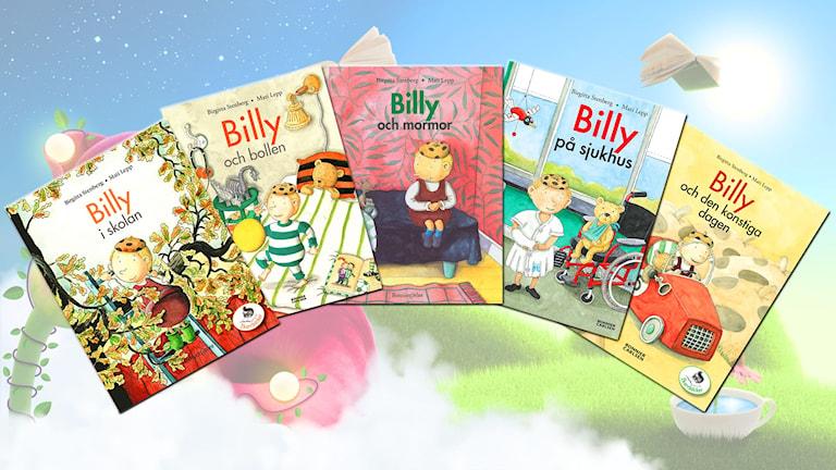 Billy-paketet i Barnradion. Sagor av Birgitta Stenberg.