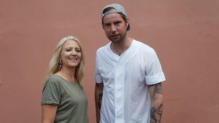Klara Zimmergren och Rasmus Persson