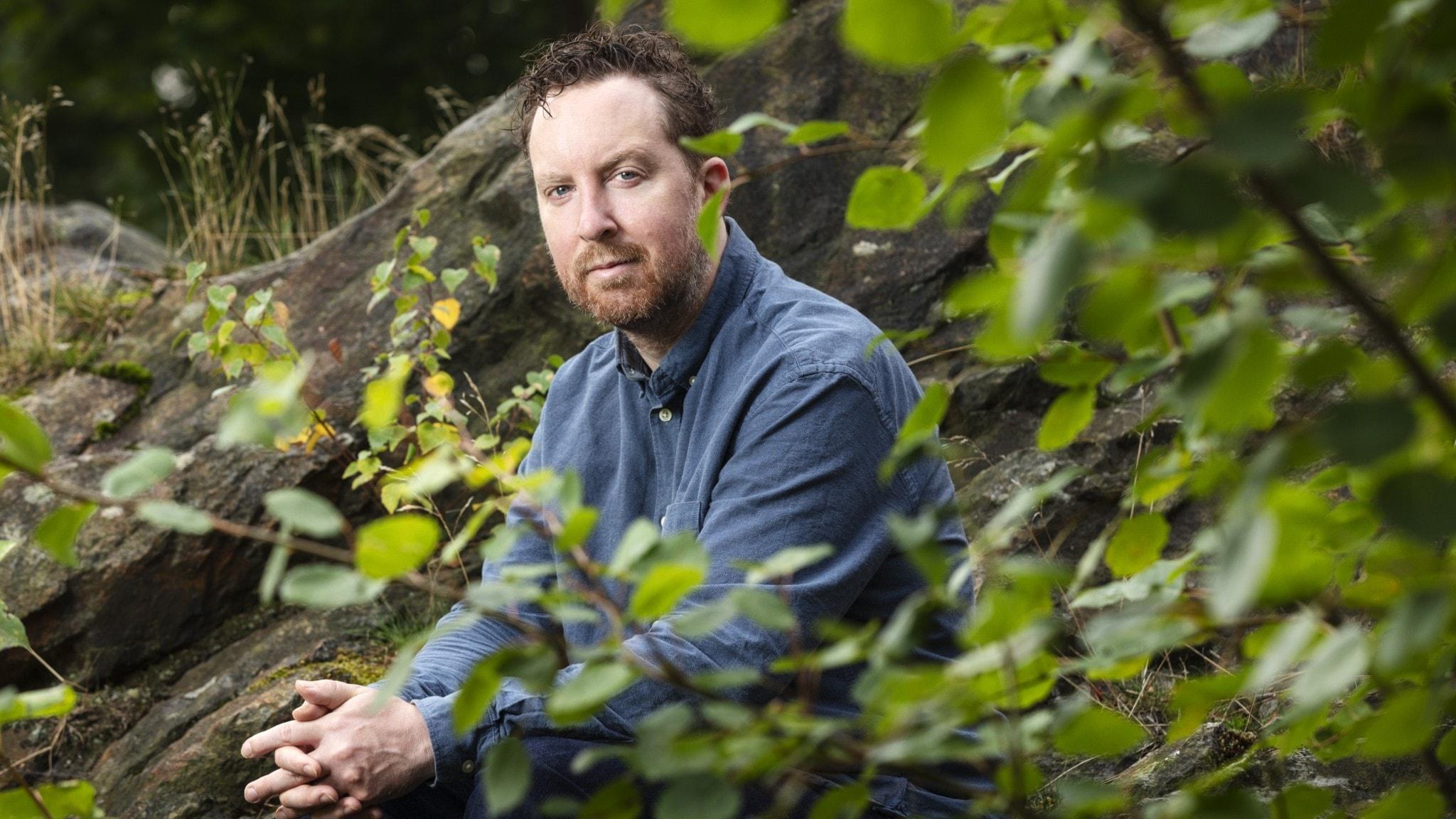 Bild på Uje Brandelius, programledare för Känsligt läge.